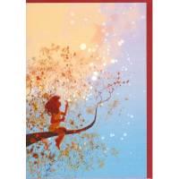 """Carte Pascal Campion """"Sur la branche"""""""
