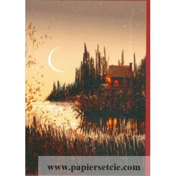"""Carte Pascal Campion """"Au bord de l'eau"""""""