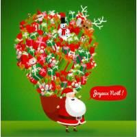 Carte Rémy Tornior Joyeux Noël La Hotte du Père Noël
