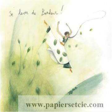 Carte Anne-Sophie Rutsaert Se lever de Bonheur!