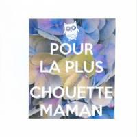 Carte Pour la plus chouette Maman, Hortensias