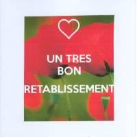 Carte KC Bon rétablissement Coquelicots