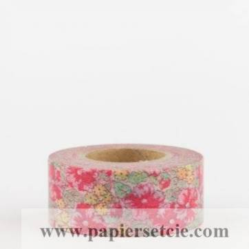 masking tape washi tape fleuri liberty rouge. Black Bedroom Furniture Sets. Home Design Ideas