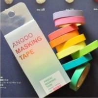 Assortiment de Masking Tape Washi Tape différentes couleurs