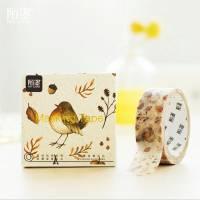Masking Tape Washi Tape Oiseau de la Forêt