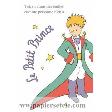 """Carte Le Petit Prince """"Toi tu auras des étoiles..."""""""