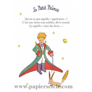 Citation Le Petit Prince Apprivoiser