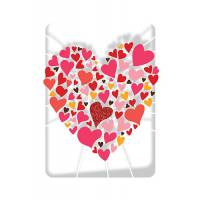 Carte découpée au laser  Les Coeurs dans le Coeur