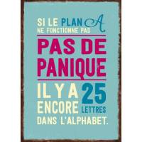 "Carnet citations ""Si le plan A ne fonctionne pas..."""