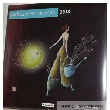 "Calendrier 2018 30 x 30 Gaëlle Boissonnard ""La Lanterne lumineuse"""