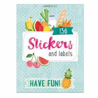 Carnet de Stickers et etiquettes pour scrapbooking Fruits