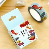 Masking Tape Washi Tape Renard et Plumes