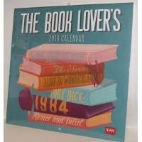 "Calendrier 2018 LEGAMI 30 x 30 ""The Book Lovers"""