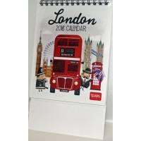 """Calendrier 2018 LEGAMI 12 x 14,5  """"London"""""""