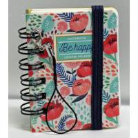 """Mini carnet 100 pages LEGAMI """"Be Happy"""""""