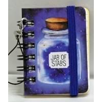 """Mini carnet 100 pages LEGAMI """"Jar of Stars"""""""