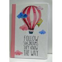 "Cahier LEGAMI A5 ""Follow your dreams"""