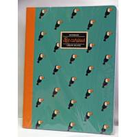 "Cahier LEGAMI B5 ""Be Curious"" Toucans  100 pages"