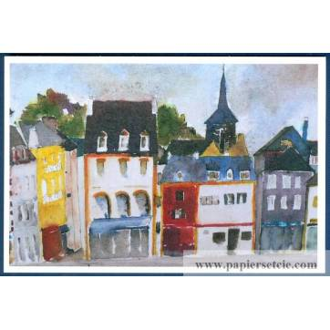 Carte Marion Kerignard Belle Ile Sauzon et Clocher