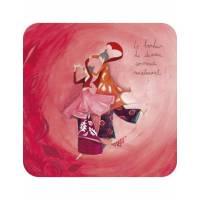 """Carte Anne-Sophie Rutsaert """"Le bonheur de demain..."""""""