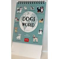 "Calendrier 2018 LEGAMI 12 x 14,5  ""Dogs of the World"""
