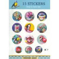 Stickers Gwenaëlle Trolez Oiseaux de Sophie Adde