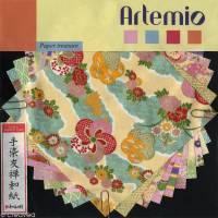 Papier Origami japonais Artemio Yuzen Pastel