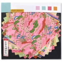 Papier Origami japonais Artemio Yuzen Rose