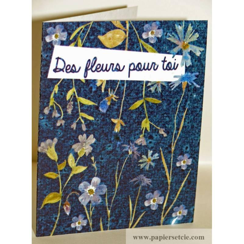 carte planter des fleurs pour toi graines fleurs des champs. Black Bedroom Furniture Sets. Home Design Ideas