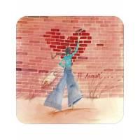 "Carte Anne-Sophie Rutsaert ""# Aimer"""