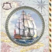 Carte d'art Gwenaëlle Trolez Navire