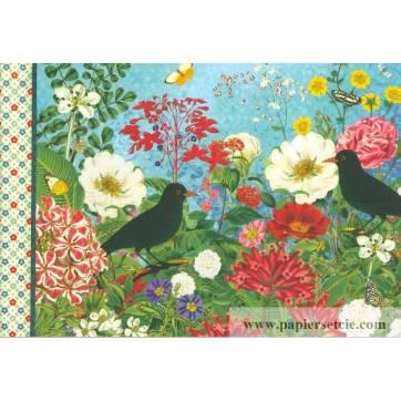 Carnet de Voyage Gwenaëlle Trolez Fleurs et Oiseaux