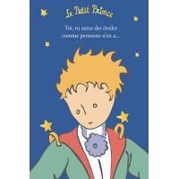 """Carte Citation Le Petit Prince dorée """"Toi tu auras des étoiles comme personne n'en a"""""""