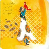 "Carte Anne-Sophie Rutsaert ""Et ce bonheur si grand..."""