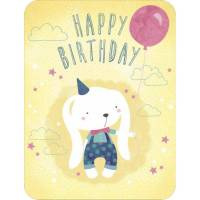 Carte Jessica Sécheret Happy Birthday Lapinou