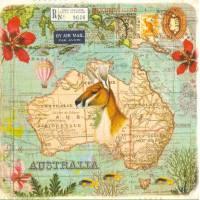 Carte d'art Gwenaëlle Trolez Australie
