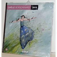 Calendrier 2019 16 x 16 Gaëlle Boissonnard