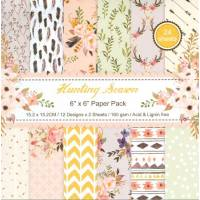 Papier Origami  et Scrapbooking Feuilles assorties Seasons