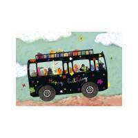 Carte Anne Isabelle Le Touzé Le bus d'anniversaire
