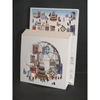 """Carte anglaise 3D laser """"Petite boite"""" Gateau d'Anniversaire"""