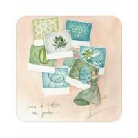 "Carte Anne-Sophie Rutsaert ""T'offrir un Jardin"""