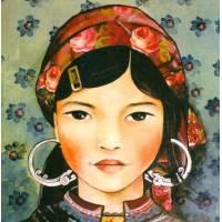 Carte Gwenaëlle Trolez Claudia Tremblay Jeune Femme du Vietnam