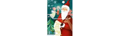 Cartes de Joyeux Noël, cartes de Noël