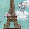 Cartes simples carrées Marie-Anne Foucart